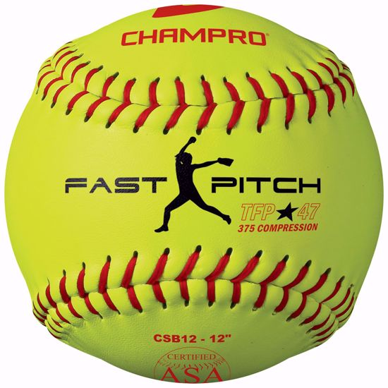 """Picture of Champro ASA 12"""" Tournament Fast Pitch"""