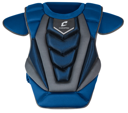 "Picture of Optimus Pro Chest Protector 16.5"" ROYAL"