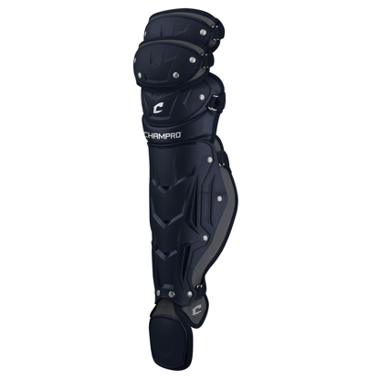 "Picture of Optimus Pro Leg Guards Triple Knee Adult 16 1/2"" Shin Length NAVY"
