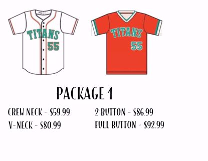 Picture of Baseball Uniform Package 1