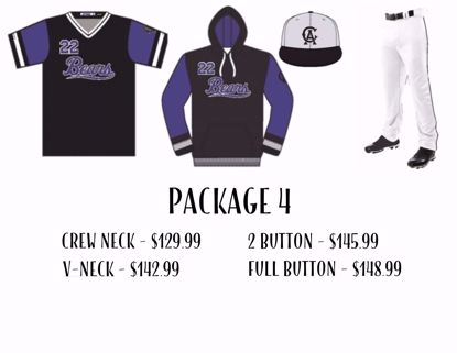Picture of Baseball Uniform Package 4