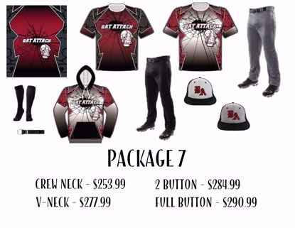 Picture of Baseball Uniform Package 7
