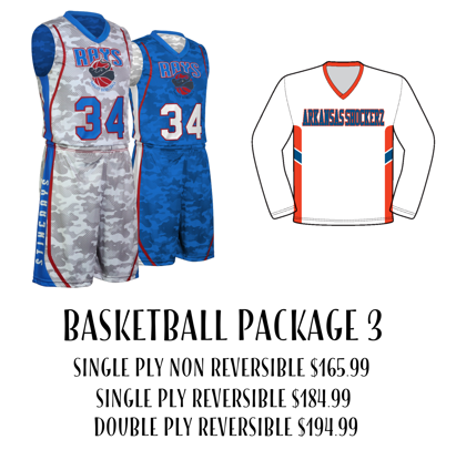 Picture of Basketball Uniform Package 3