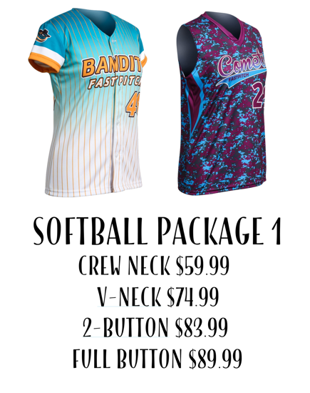 Picture of Softball Uniform Package 1