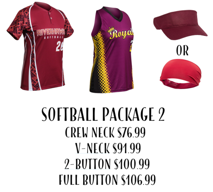 Picture of Softball Uniform Package 2