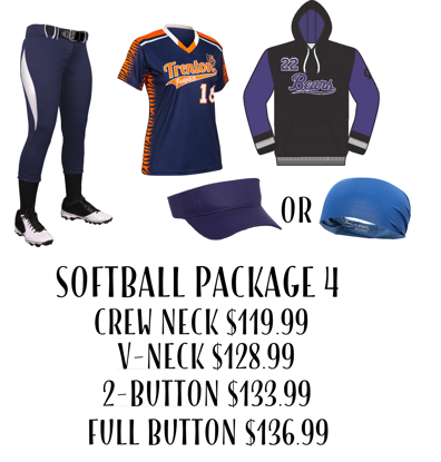 Picture of Softball Uniform Package 4