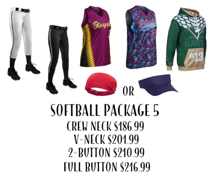 Picture of Softball Uniform Package 5