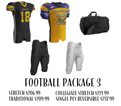Picture of Football Uniform Package 3