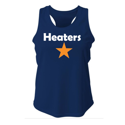 Picture of Heaters Racerback Tank Navy