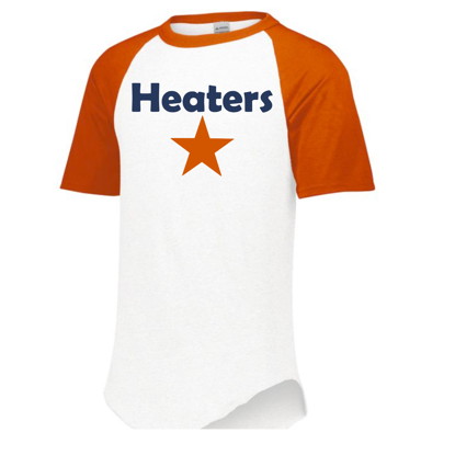 Picture of Heaters Baseball Tee Orange