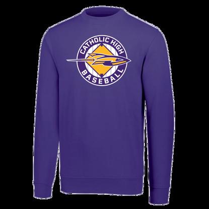 Picture of Crewneck Sweatshirt Purple
